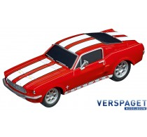 Ford Mustang 1967 Racing Red -64120