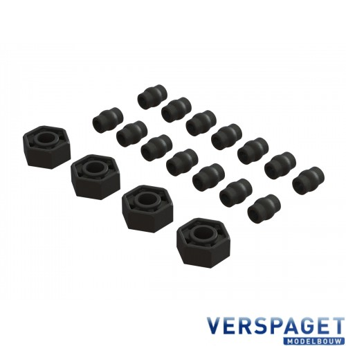 Composite Pivot Ball & 12 mm Hex Set -AR320386