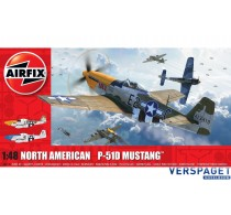 North American P51-D Mustang Filletless Tails -AF05138