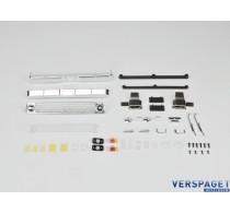 SCA-1E Coyote Body Plastic Parts Set -15979