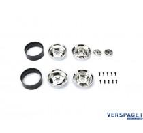 SCA-1E Chrome Wheel Set -15985