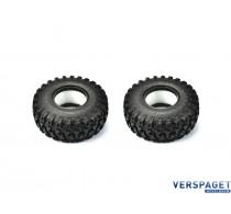 SCA-1E All Terrain Adventure Type Tire Set -15986