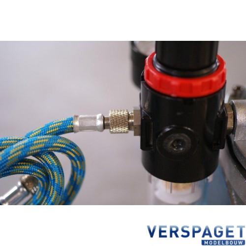 Compressor & Drukvat & Water / Lucht Afscheider