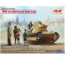FCM 36 with French Tank Crew -ICM35338