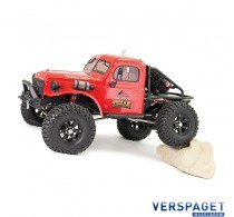 OUTBACK TEXAN 4X4 RTR 1:10 TRAIL CRAWLER - RED -FTX5590R