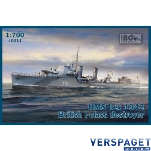 HMS Ilex 1942 British I-class destroyer -70011