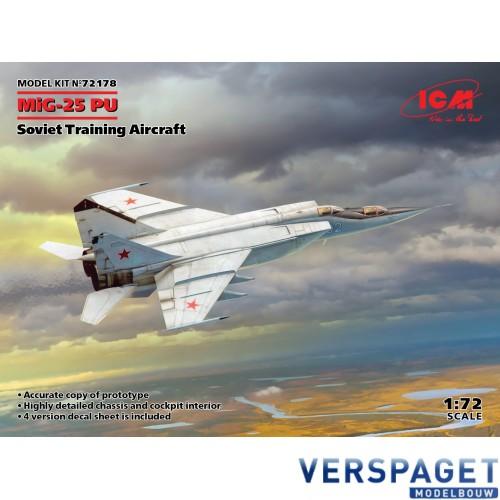 MiG-25 PU, Soviet Training Aircraft -ICM72178