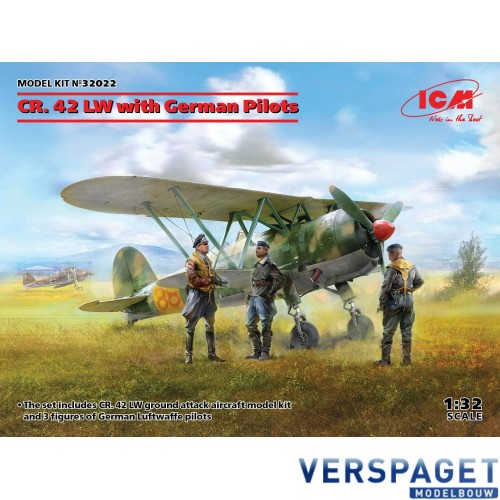 CR. 42 LW with German Pilots -32022