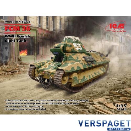 FCM 36 WW2 FRENCH TANK. -35336