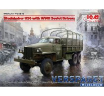 Studebaker US6 with WWII Soviet Drivers  -35510