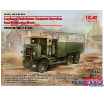 Leyland Retriever General serv. WWII British Truck -ICM35602
