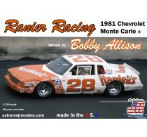 Ranier Racing 1981 Chevrolet Monte Carlo Driven by Bobby Allison -RRMC1981C