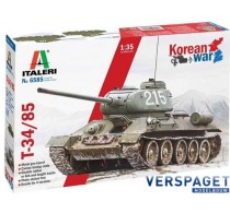 T 34/85 Korean War -6585