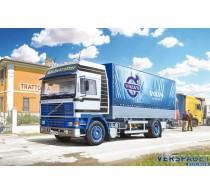 VOLVO F16 Globetrotter Canvas Truck with elevator -3945