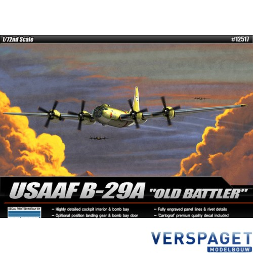 USAAF B-29 Old battler -12517