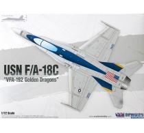 USN F/A-18C VFA-192 Golden Dragons -12564