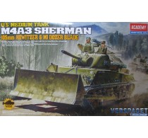 M4A3 Sherman 105mm w/M1 Dozer Blade -13207