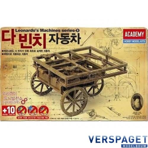Leonardo da Vinci Self Propelling Cart -18129
