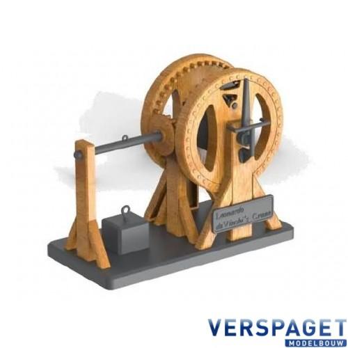 Leonardo da Vinci Leverage Crane -18175