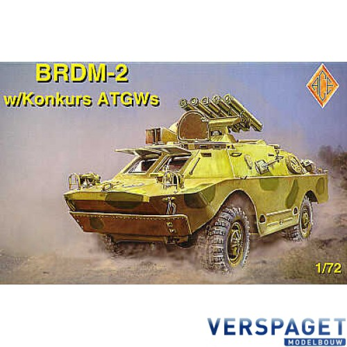 BRDM-2 with Konkurs ATGWs  -72103