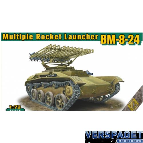 BM-8-24 multiple rocket launcher -72542