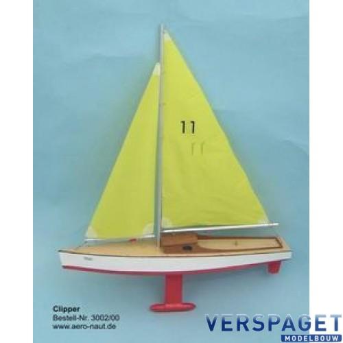 Clipper Houtbouw Zeilbootje -AE3002/00