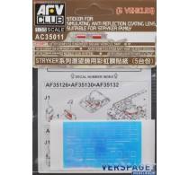 Anti Reflection Sticker for Stryker Model Kit -AC35011