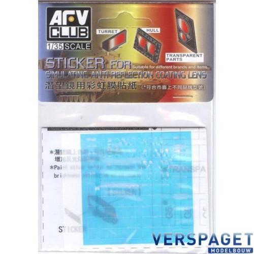 Sticker Anti Reflection Coating Lens for US LAV-25 Family -AC35018