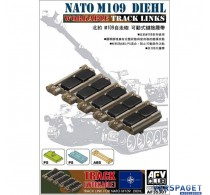NATO M109 DIEHL Workable Track Links -AF35307