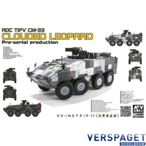 ROC TIFV CM-33 CLOUDED LEOPARD Per-serial Production -AF35S88