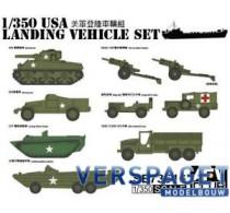 WWII US Landing Vehicle Set -SE73516