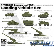 USA Korea WAR & WW2 Landing Vehicle set -SE73517