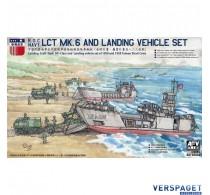 LCT MK.6 & LANDING VEHICLE SET -SE735S02