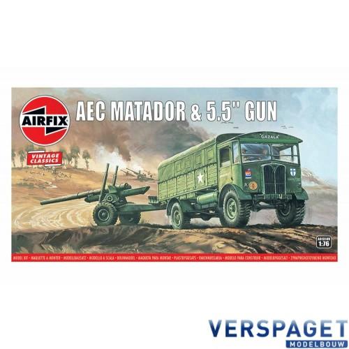 """AEC Matador and 5.5"""" Gun -AF01314V"""