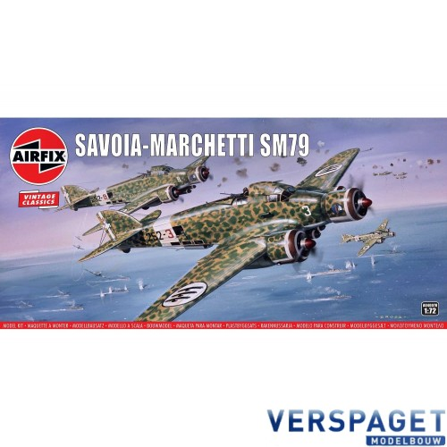 Savoia-Marchetti SM79 -AF04007V