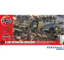 D-Day Operation Overlord Set & Verf  & Lijm & Penseeltje -AF50162A