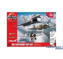 RAF Centenary Gift Set  & Verf & Lijm & Penseeltjes -AF50181