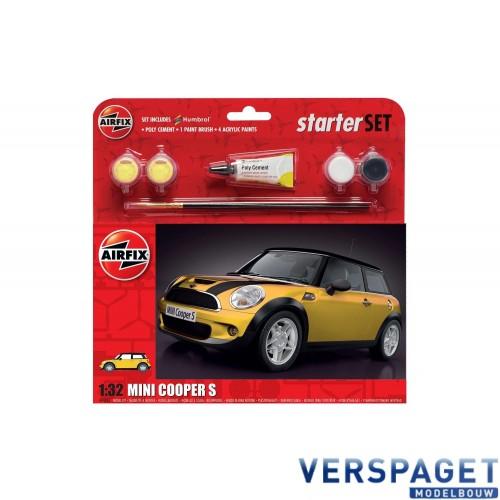 MINI Cooper S Starter Set & Verf & Lijm & Penseeltje -55310