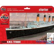 R.M.S. Titanic Gift Set   & Verf & Lijm & Penseeltjes -AF55314