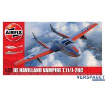 De Havilland Vampire T.11 / J-28C -AF02058A