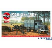 PAK 40 Gun & Truck  -AF01315V