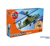 QUICK BUILD Apache Helicopter - J6004