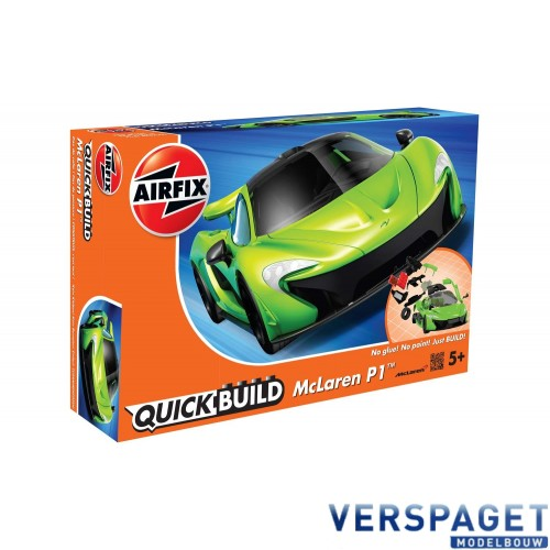 QUICK BUILD McLaren P1™ Green  - J6021