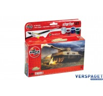 Starter Set  Tiger 1 & Verf & Lijm & Pensseltjes -AF55004