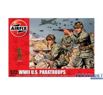 WWII U.S. Paratroops -AF00751