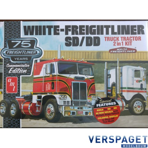 White Freightliner Tractor SD / DD 2 in 1 kit -1046
