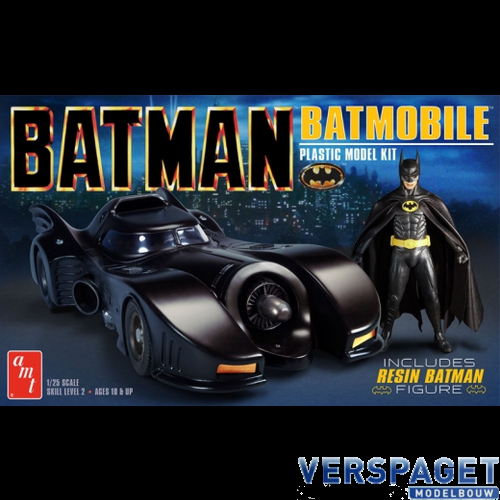 Batman 1989 Batmobile w/Resin Batman Figure -1107M