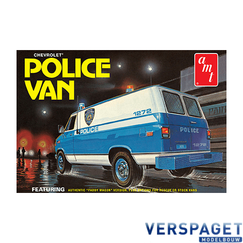 Chevy Police Van -1123