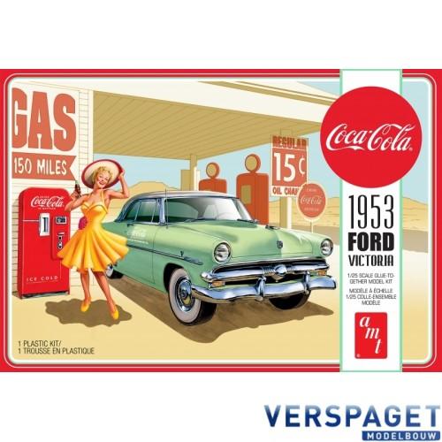1953 Ford Victoria Hardtop with Coca-Cola Machine -1146