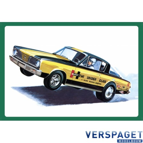 1966 Plymouth Barracuda - Hemi Under Glass -1153
